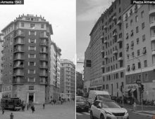 Piazza Armenia (ieri e oggi)