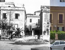 Via Oristano (ieri e oggi)