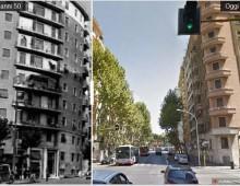 Piazza Tuscolo e dintorni ieri e oggi