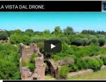 La Caffarella vista dal drone