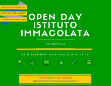 Via Monza, open day all'Immacolata