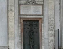 San Giovanni, pronta la Porta Santa