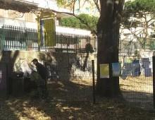 Villa Lazzaroni, chiusa l'area giochi