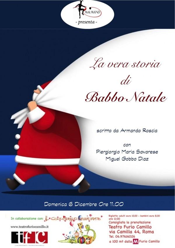 Babbo Natale 8 Dicembre Roma.Teatro Furio Camillo La Vera Storia Di Babbo Natale