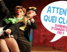 "Teatro Kopò: ""Attenti a quei clown"""