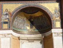 """Scala Santa: il """"latinorum"""" dell'antico mosaico"""