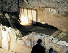 San Giovanni, sotto l'ospedale una villa romana