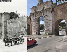 Porta San Giovanni (ieri e oggi)
