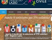 Bando: 376 volontari SCN Regione Lazio
