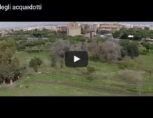 Il Parco degli Acquedotti dal drone