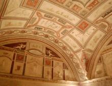 Visita: i sotterranei affrescati di via Latina