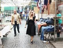 Quando Sarah Jessica Parker passeggiava tra le bancarelle di via Sannio