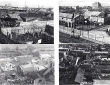 Censimento baracche da Ponte Lungo ad Arco di Travertino del 1938