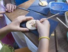 Ludoteca Alberone Azzurro: dipingiamo la ceramica
