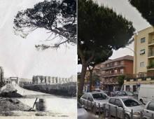 Via Tuscolana (ieri e oggi)