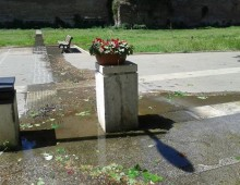 Mura Latine, dal 15 aprile tubature rotte e allagamenti