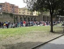 Il mercato del rubato di Viale Carlo Felice (felice un tempo!)