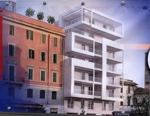 Questo è il progetto per la nuova palazzina in via Gino Capponi