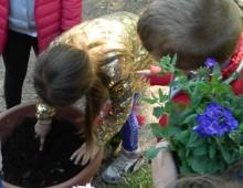 Parco degli Scipioni, grande successo dei piccoli giardinieri
