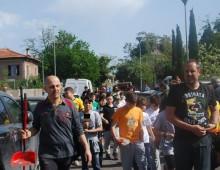"Via Demetriade,  ""Meta Pulita"" Arnold Rugby con Retake Roma"
