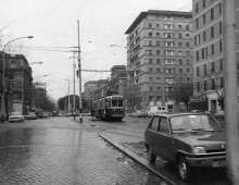 La rete tranviaria dell' Appio Tuscolano dal 1935 al 1980