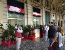 Piazza Vittorio, sbarca la profumeria Curti