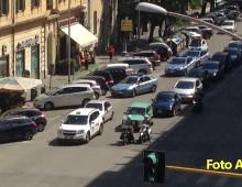 Via Aosta: rapina in banca