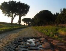 Pedalata al tramonto sull'Appia Antica