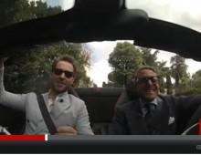 Lapo Elkann sfreccia in Ferrari sull'Appia Antica – il video della CNN