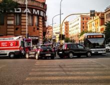 Via Taranto: incidente all'autobus 16