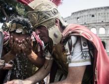 Stop a centurioni e risciò