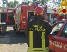 Via Appia Nuova: esplosione per fuga di gas