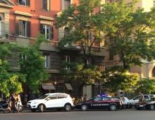 Via Taranto, tentativo di furto in condominio