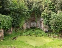 Parco della Caffarella: il Ninfeo di Egeria