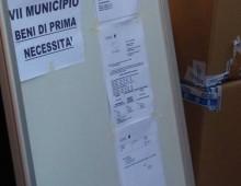 La solidarietà dei cittadini dell' Appio Tuscolano