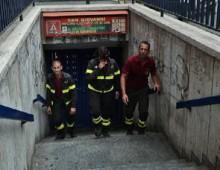 Stazione Metro San Giovanni: ancora pericolo crolli