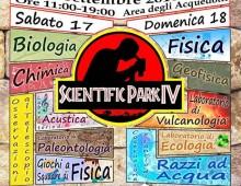 Parco Acquedotti: torna SCIENTIFIC PARK