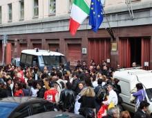 Via Pianciani: proteste per il trasferimento del Provveditorato