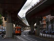 Pigneto, spaccio in tram