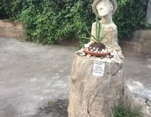 Via Tuscolana: un artista del legno