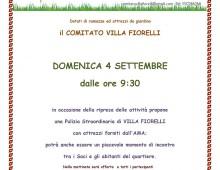 Villa Fiorelli: il comitato propone una pulizia straordinaria