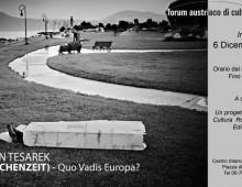 Sala 1: eccezionale mostra del fotografo Tesarek