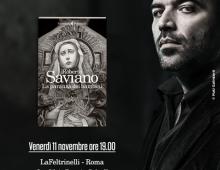 Feltrinelli via Appia Nuova: oggi incontro con Roberto Saviano