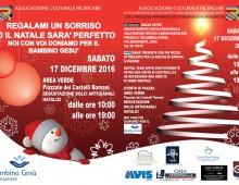 Piazzale dei Castelli Romani: regalami un sorriso e il Natale sarà perfetto