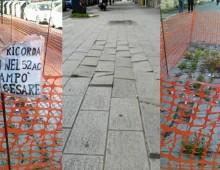 Viale Furio Camillo: la nuova pavimentazione