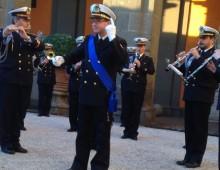 Piazza Vittorio: concerto della banda della Marina