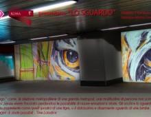 Il murales della stazione metro San Giovanni