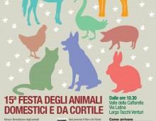 Caffarella: festa degli animali e raccolta fondi per progetti in aiuto alle popolazioni terremotate