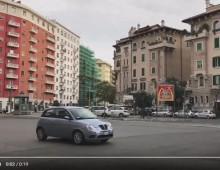 [Video] – Blocco del traffico di ieri: tante auto in strada