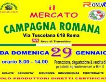 Arco di Travertino: torna il mercato Campagna Romana